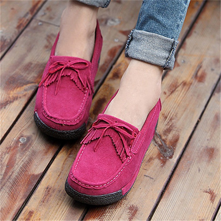 Woman-Flock-Flat-Thick-Bottom-Tassel-Bowtie-Slip-on-Mother-Nurse-Shoes-Spring-Autumn-Casual-Woman (2)