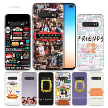 Friends Together TV Show Case for Samsung Galaxy S8 S9 S10 5G S10e S7 Note 8 9 10 J4 J6 Plus J5 J8 2018 J3 Silicone Phone Bags(China)