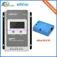 Солнечный отслеживания tracer серии контроллер mppt Tracer3210AN 30A 30 Ампер EPEVER bluetooth ble eBOX только для системы Android 24 В /12 В