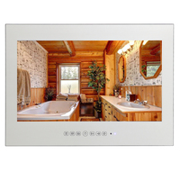 Souria 21 5inch Magic Vanishing Mirror Indoor Full HD 1080 Home Use LED TV Dvb T2