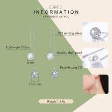 Sterling Silver Long Star Drop Earrings for Women