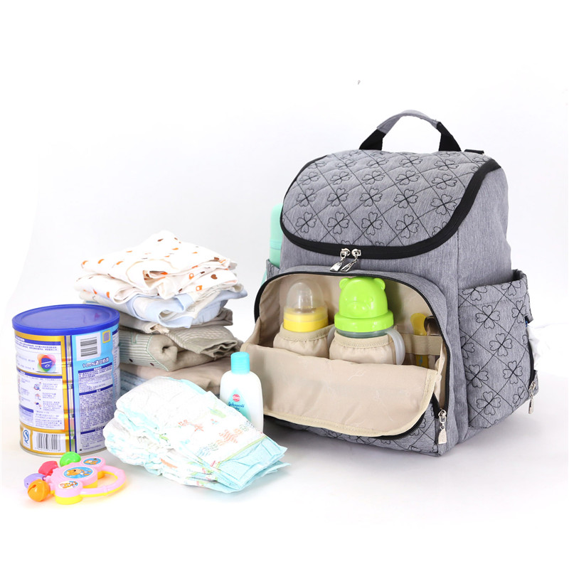 Fashion mummy Bags Large Diaper Bag Backpack Baby Organizer Maternity Bags Bolsos For Mother Handbag Nappy Backpack Stroller Bag 2017 new baby diaper bag for mom fashion mother maternity bag nappy bags sets mummy baby bag 3 colors