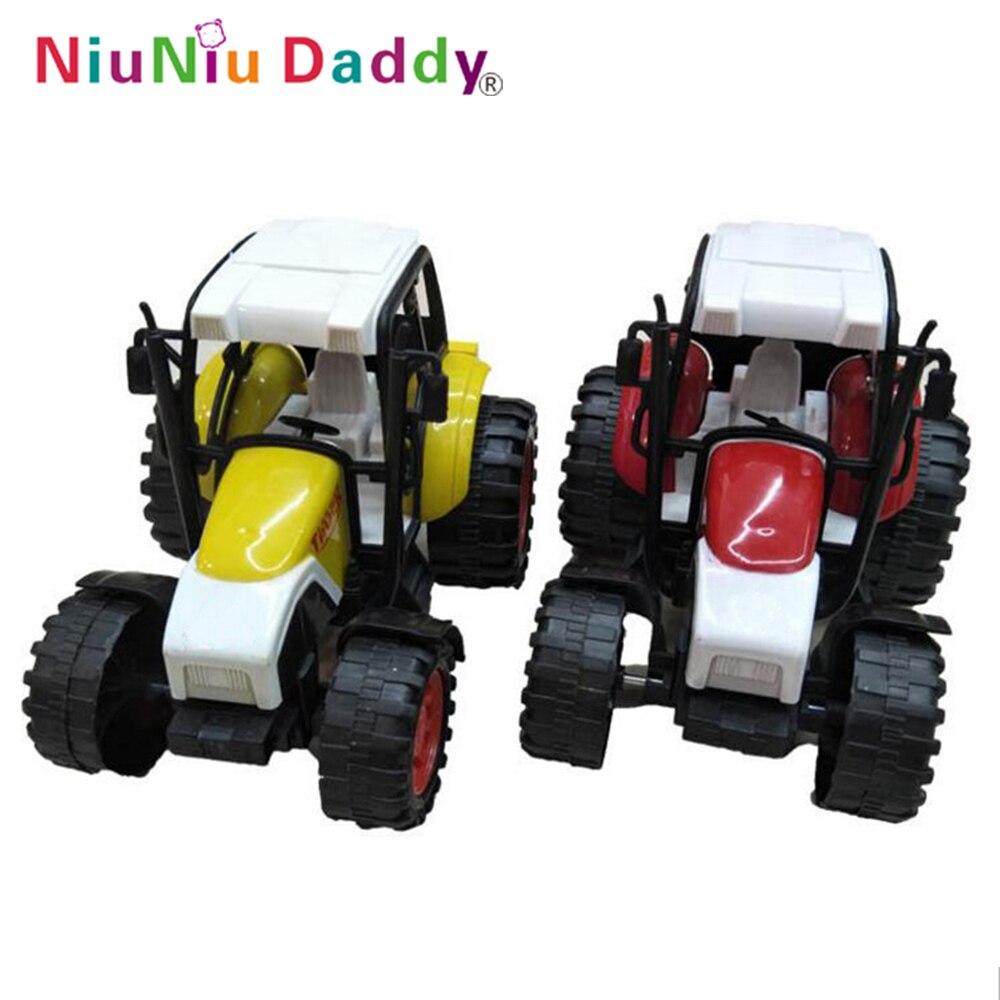Niuniu Daddy Freewheeling Farm Truck Cartoon Farm Vehicle Children Plastic Car Toy Engineering Truck Kids Tractor Toy For Boy