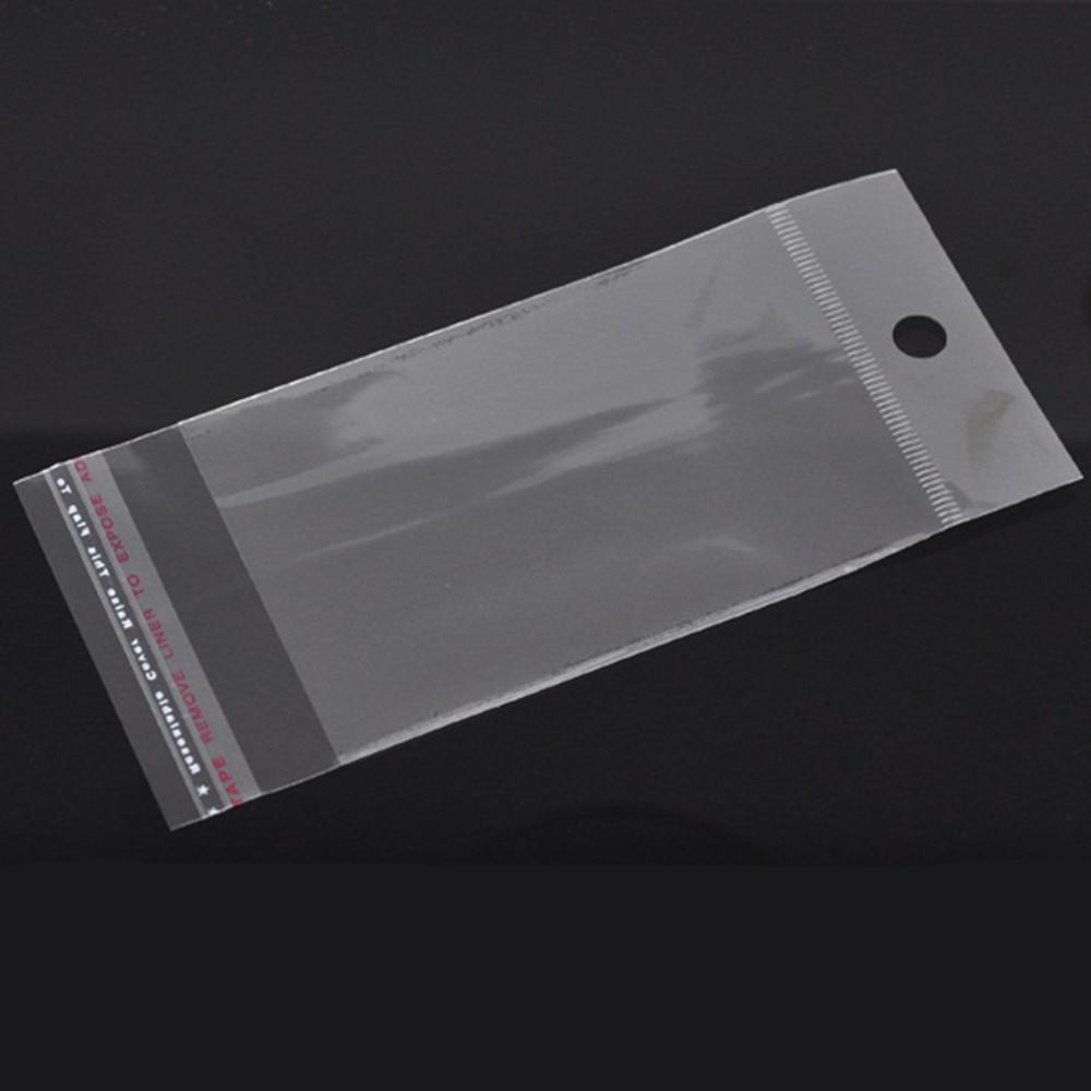 Doreen Box Hot-  200 Self Adhesive Seal Plastic Bags (Usable 9x6cm) (B05759)