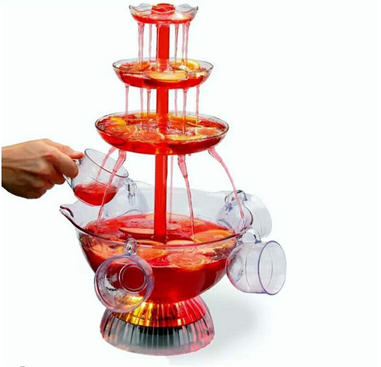 Red wine juice drinks wine fountain machine points birthday party bar entertainment water dispenser beer machine