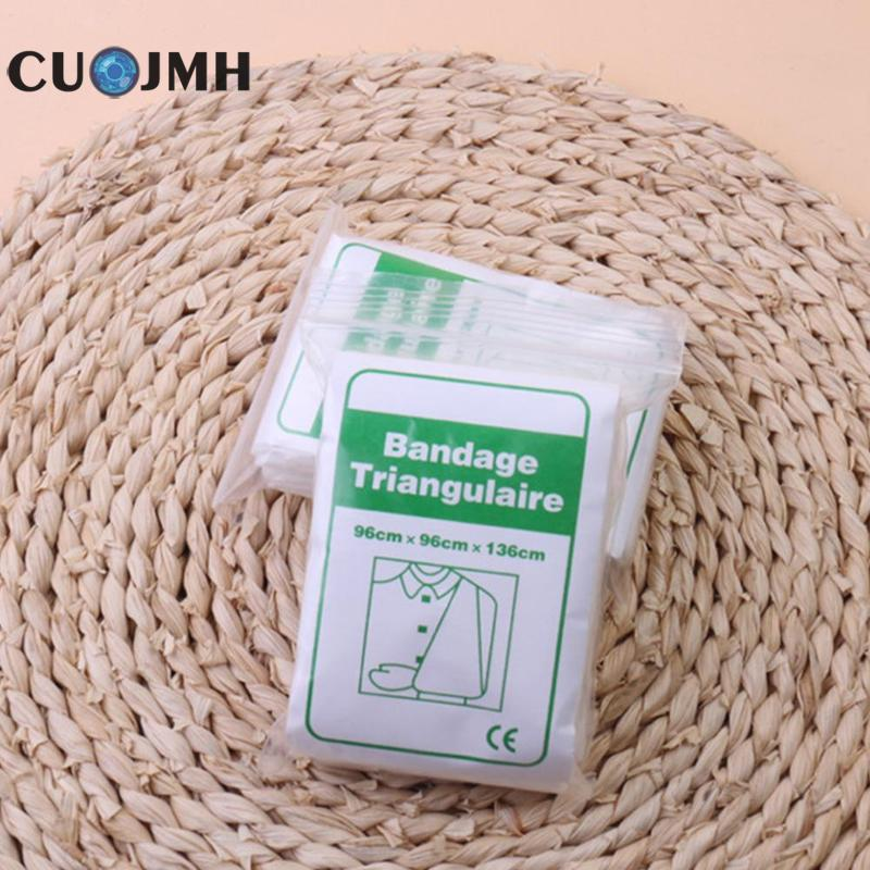 Emergency Bandage Medical Burn Dressing Bandage Triangular First Aid Bandage Kit Wrap Fracture Fixation Wound Care