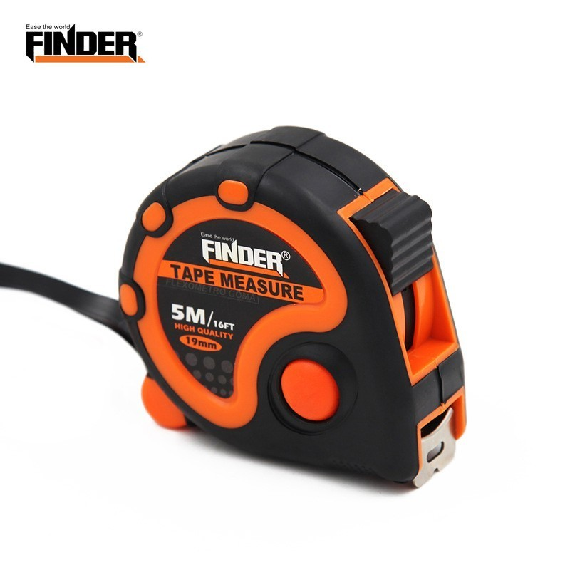 FINDER 3 5 7 5 10M Metric British System Tape Auto Lock Measurement Measure Retractable Measuring Tool Inches CM Centimeters in Tape Measures from Tools