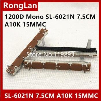 [BELLA]SL-6021N 75MM 7.5CM Single potentiometer A10K Budweiser 1200D Mono shaft length 15MM--100pcs/lot