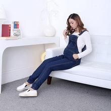 1e1cbdfb3b955 Maternity Straps Overalls Belt Pants For Pregnant Women Denim Braced Jeans  Jumpsuits Pregnancy Rompers Suspenders Jeans Autumn