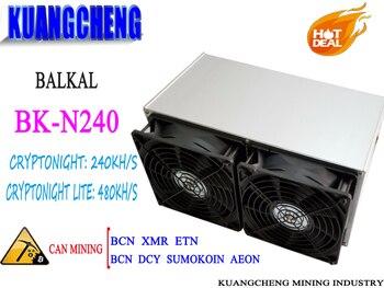 BK-N240 Baikal Giant N240 Cryptonight 240KH/S Cryptonight-lite 480KH/S 650W Better Than Atminer X3 Giant N+ N N70