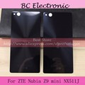 With LOGO repairment battery back case door cover black or white For nubia Z9 mini /5inch/ NX511J zte