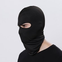 Soft Motorcycle Full Face Mask Lycra Balaclava Windproof Breathable Ski Snowboard Cap Airsoft Paintball Cycling Ski Mens Hat