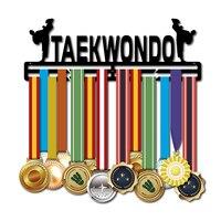 Taewkondo металлическая вешалка для боевых искусств медаль держатель металлическая медаль дисплей стойка для 30 + медалей