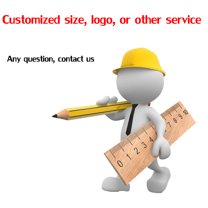 Customized size or logo or other service or buying agent please make order through this link only