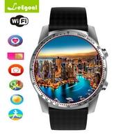 KW99 Smart Watch Phone 3g Wifi Gps Watch Men Mtk6580 Bluetooth Smartwatch Heart Rate Wristband Android