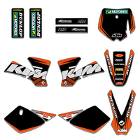 Team Graphics Decals Stickers Deco For KTM 50 SX50 MINI ADVENTURE MTK50 2002 2003 2004 2005 2006 2007 2008