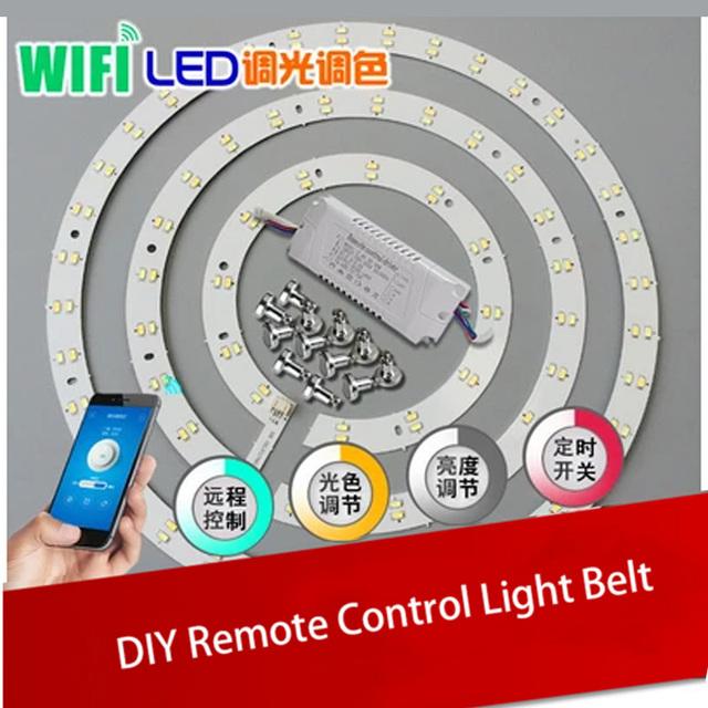 Sonoff timmer dimmer de alta calidad diy interruptor de ios android remoto Cinturón Con Control de Luz LED Lámpara de Techo de Casa Inteligente vida