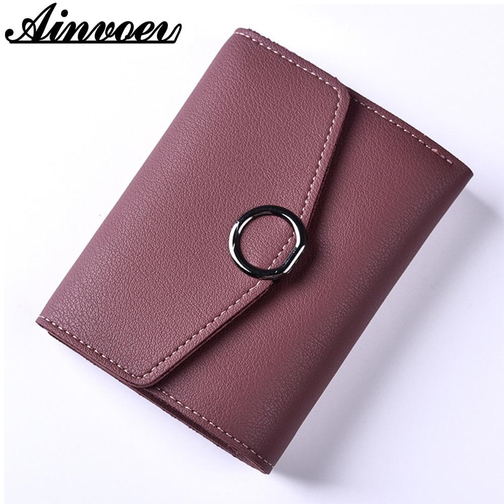 Fashion Women Leather Wallet Clutch Purse Lady Short Handbag Bag Slim Mini Wallet Women Small Clutch Female Purse Coin Holder wallet