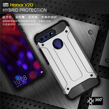 For Huawei Honor V20 Case Shockproof Armor Rubber Phone Back Cover 20 Coque Fundas 6.4