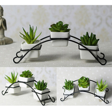 KEYBOX Vertical Garden Desktop New Style Good Quantity Micro Decorative Flower Pots Handmade Gift Decoration
