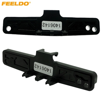 FEELDO 1Pair Car Stereo Conversion Mounting Bracket Kits For Ford Focus MK2(05~08) Into Focus MK2.5(09~13) #AM3136 image