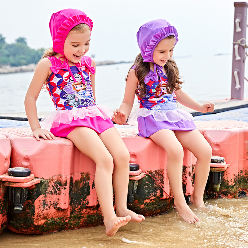 Child Swimwear Girl Swimsuit For Children Junior Girls Bathing Suits 2018 New Beach By S ...