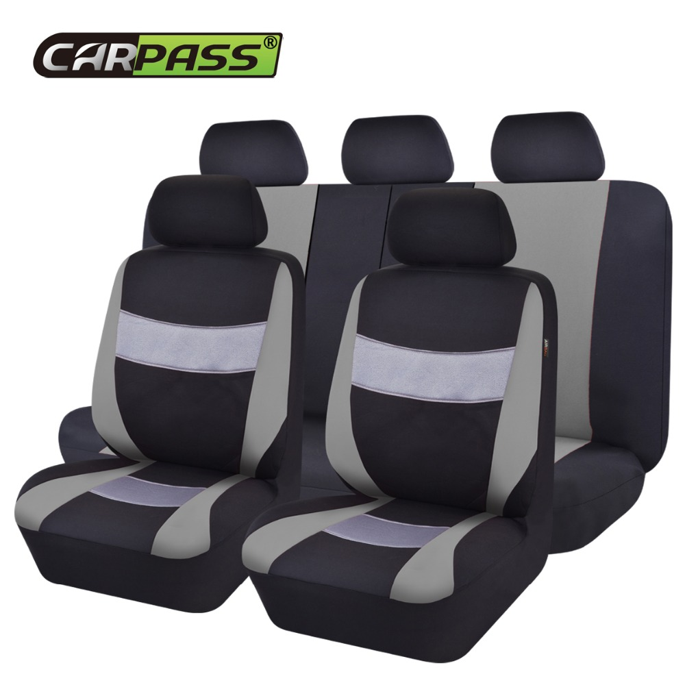 Car Pass 2017 New Mesh Breathable Auto Universal Car Seat