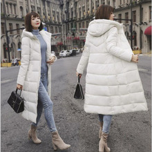 Winter Jacket Female Parka Coat Plus size M-6XL Fashion Down Long Hoodie Thick Women Clothing