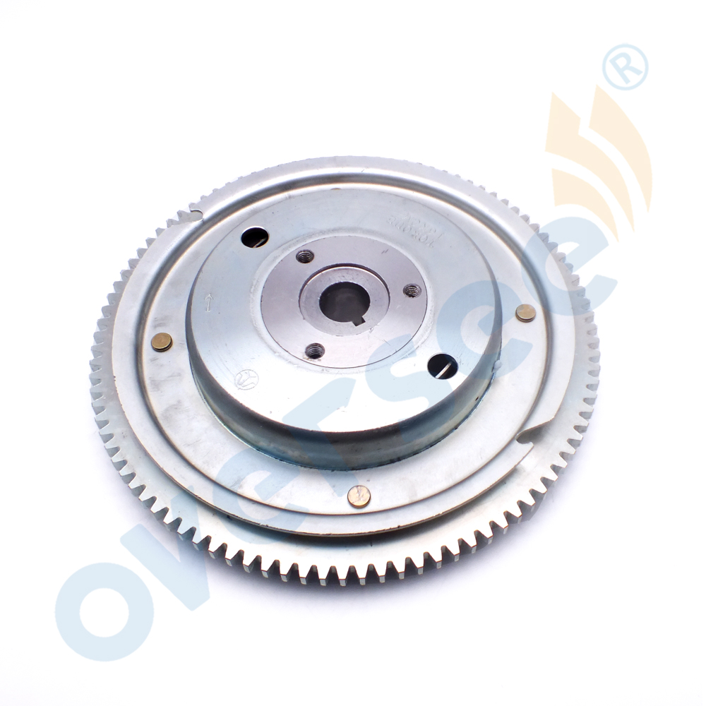 OVERSEE 60HP 70HP Flywheel Rotor 6K5 85550 A0 00 For Yamaha Outboard Engine 60HP 6K5 2