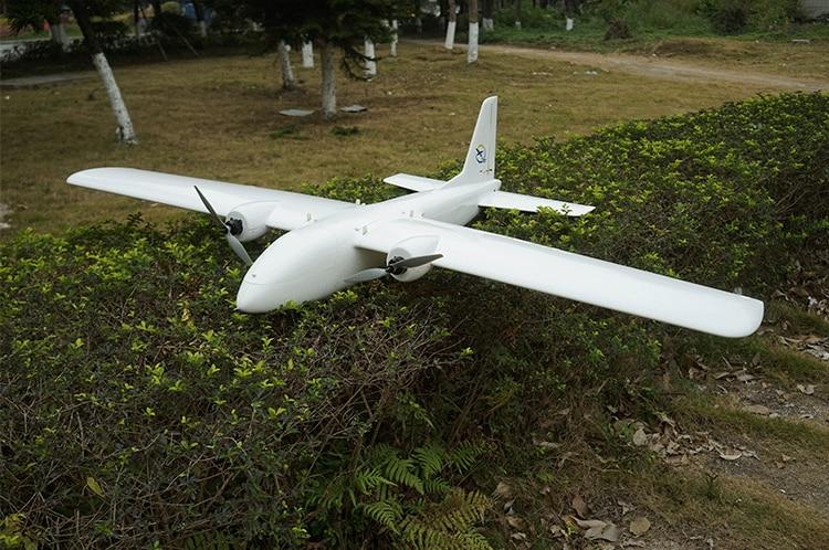 100KM Long Range My Twin Dream MTD FPV 1800mm UAV Wingspan EPO Foam Flying  Wing RC Airplane Kit