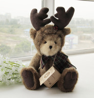 12 Teddy Bear Disguised as a deer Stuffed animals Plush toys dolls freeshipping