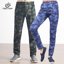 TECTOP outdoor pants quick dry Pants Men four side stretch Women Army green camouflage trousers Woman Man breathable Trousers