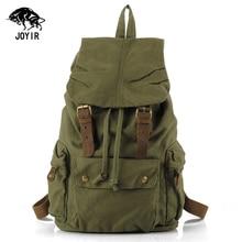 Leinwand Rucksack Männer Vintage Militär Designer Bagpack Frauen Reisen Laptop Schultaschen 2017 Günstige Kordelzug Rucksack Männer