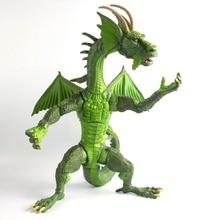 Fin fang foom baf build a figure completo autêntico 15 polegadas de altura grande figura de ação