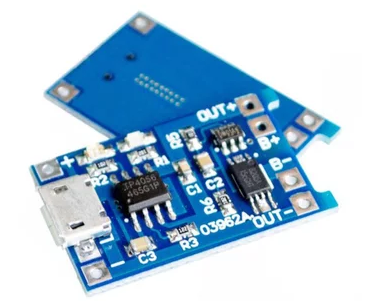 Micro USB 5V 1A 18650 Module TP4056 Lithium Battery Charger Module 18650 Charging Board With Protection Dual Functions 1A Li-ion