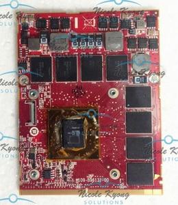 100% рабочий HD5870 HD 5850M HD 5830M HD 5870M 1G MXM DDR5 VGA Видеокарта для Alienware m17 m15x M6600 M6700