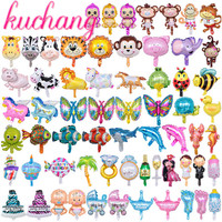 500pcs 1000pcs mix mini animal cute princess cal foil balloon number rainbow candy birthday party decoration child toy supplier