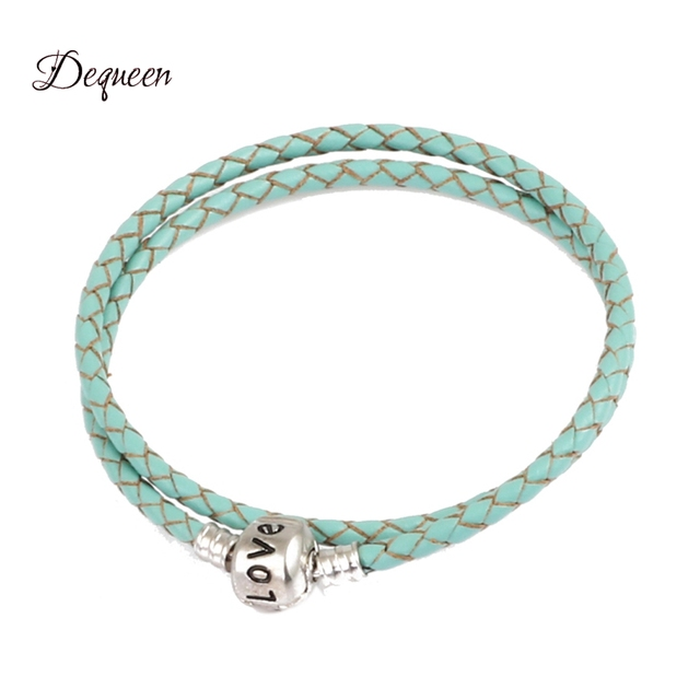 Trendy Jewelry Charm Bracelets Bangles Leather Bracelet Making Fit For Women S