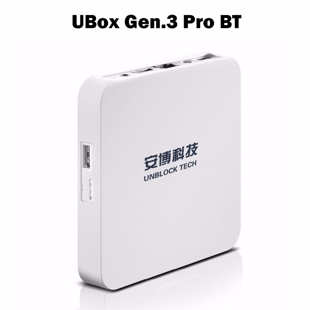 Unblock UBOX 3 HDMI TV Box S900 Pro III Gen 3 Pro Bluetooth Oversea Version font