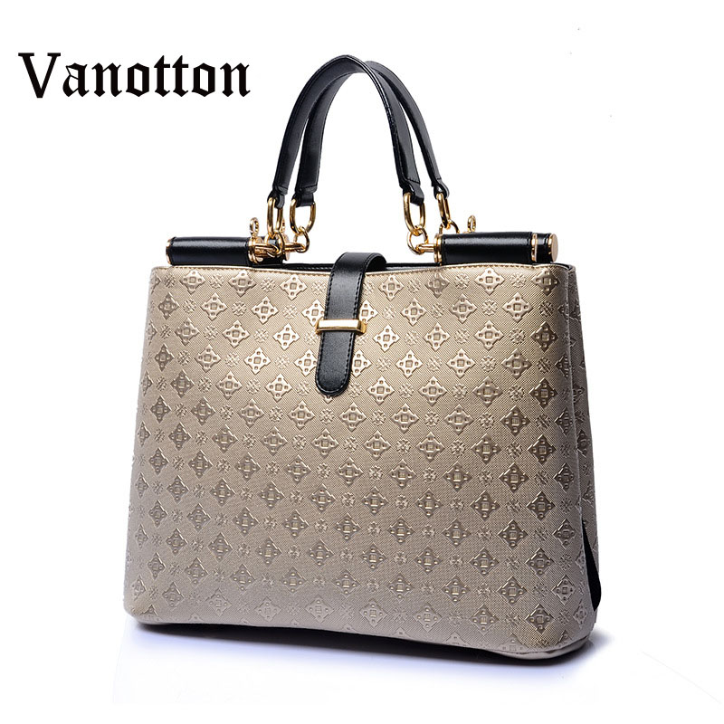 2017 Brand Luxury Women Leather Handbags Tote Bag Designer Female Shoulder Messenger Bags High Quality Bolsos Mujer Saco