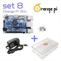 Orange Pi Win SET 8: Orange Pi Win+ Transparent ABS Case+ Power Supply+ 8 GB Class 10 Micro SD Card Beyond Raspberry