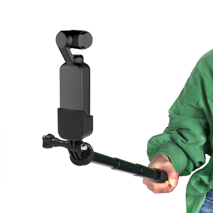 Image 3 - osmo Pocket Handheld selfie stick rod + tripod stabilize holder For DJI osmo Pocket camera gimbal accessories