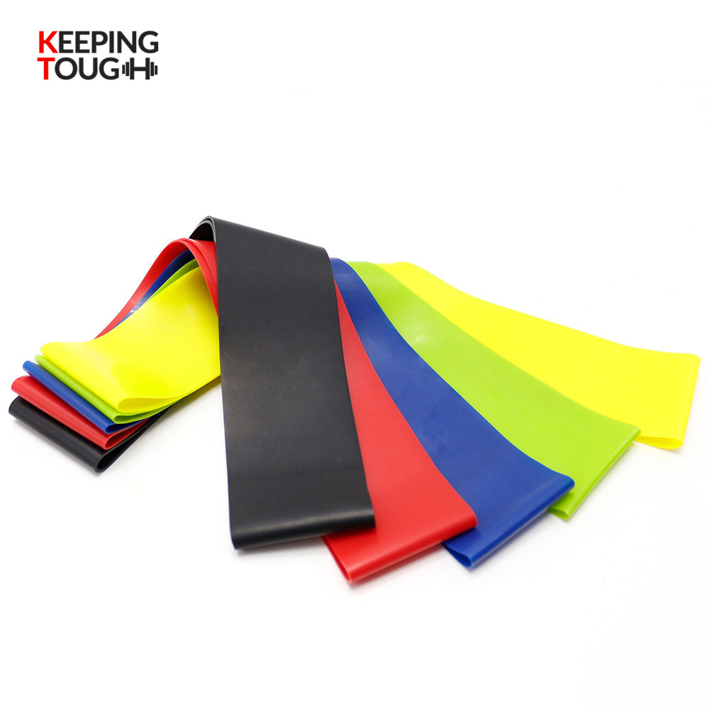 Resistance Bands Fitness Equipment 5 Levels Latex Gym Strength Training Power Bands Rubber Loops Strap Fitness