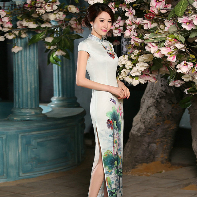 aa335663d New design modern qipao dress ladies elegant oriental style dresses fashion  chinese oriental dresses chinese-