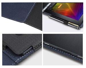 Image 5 - Design créatif housse pour Lenovo yoga book 10.1 pouces tablette housse pour ordinateur portable housse pour ordinateur portable pochette en cuir PU stylet de peau cadeaux