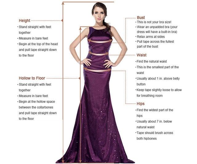 Wedding_Prom_Evening_Cocktail_Women_Girls_Dresses_size_model