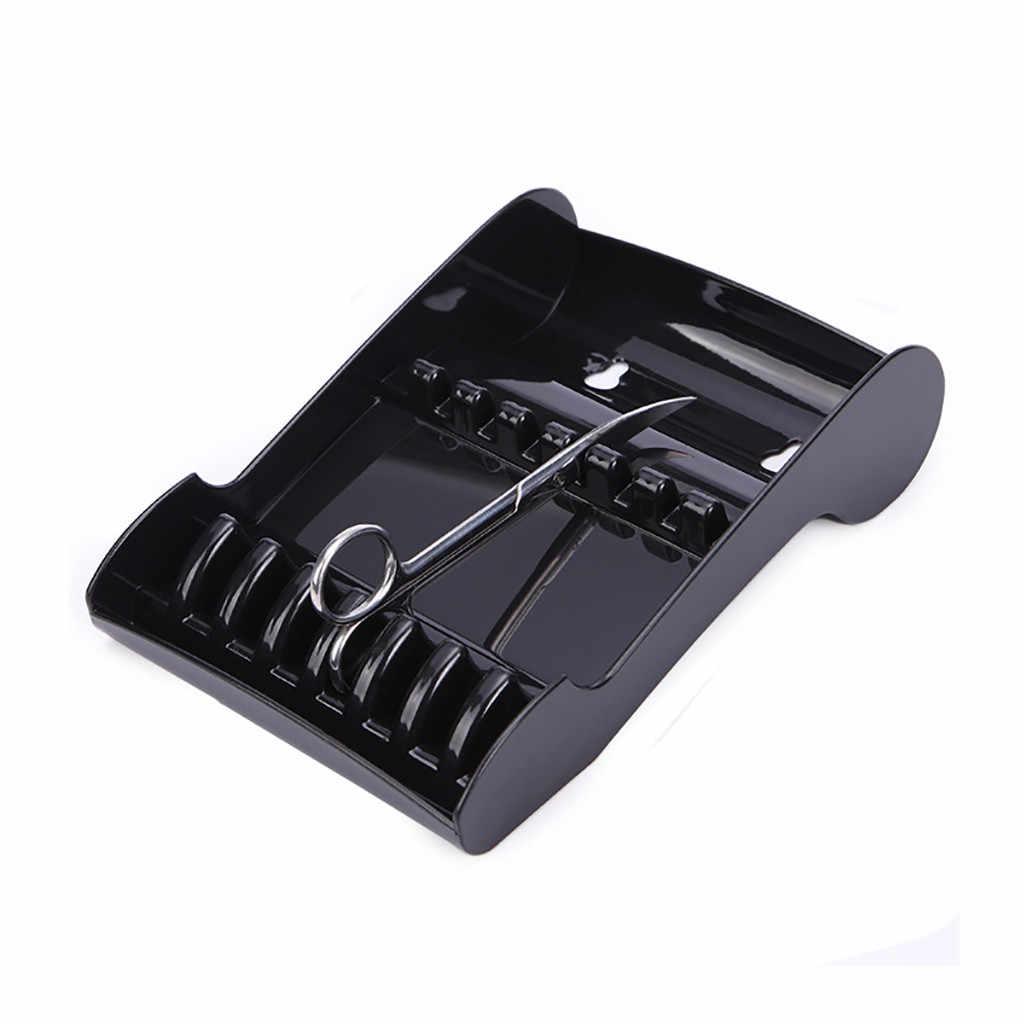 Haicar Салон ножницы подставка стойка-кейс Парикмахерская подставка для ножниц стойки ножницами волосы Организатор хранения лоток для парикмахерских