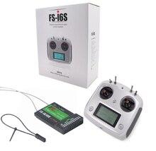 FS i6S Flysky F18975/6, mando a distancia, 2,4G, 10 canales, transmisor de AFHDS, receptor de FS IA10B para RC Quadcopter, Dron Multirotor