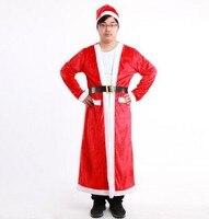 santa claus robe christmas santa claus costume for men santa claus suit adult santa costumes christmas cosplay new year costume