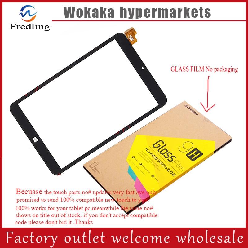 Tempered glass protector film Black or white For Prestigio MultiPad VISCONTE QUAD 3GK PMP1080TD3GBK touch screen